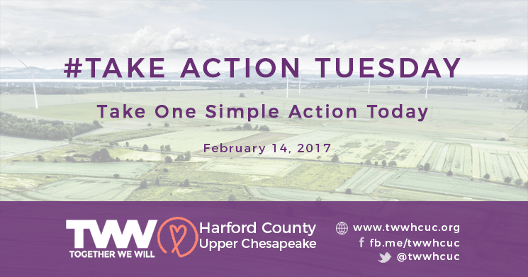 #TakeActionTuesday February 14th