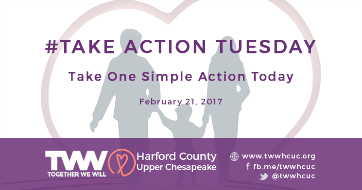 #TakeActionTuesday February 21st