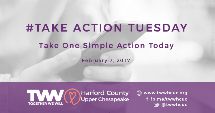 #TakeActionTuesday February 7th