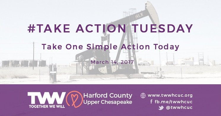 #TakeActionTuesday – March 14, 2017