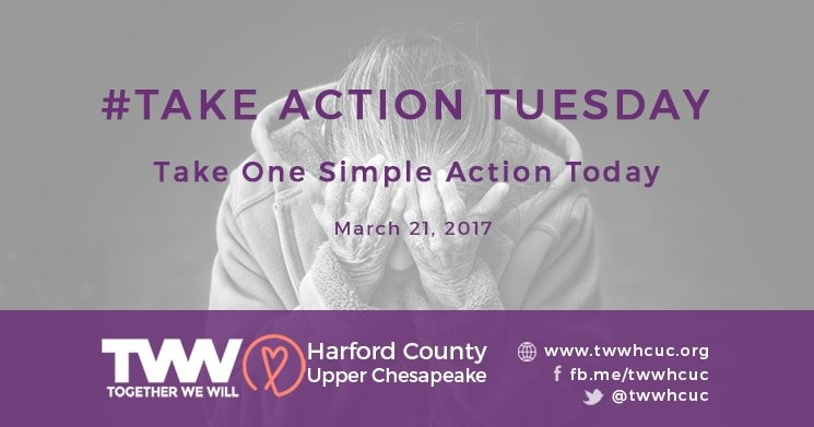 #TakeActionTuesday – March 21, 2017