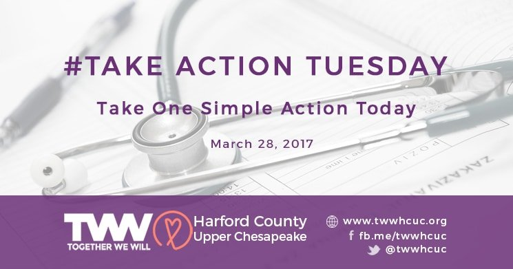 #TakeActionTuesday – March 28, 2017