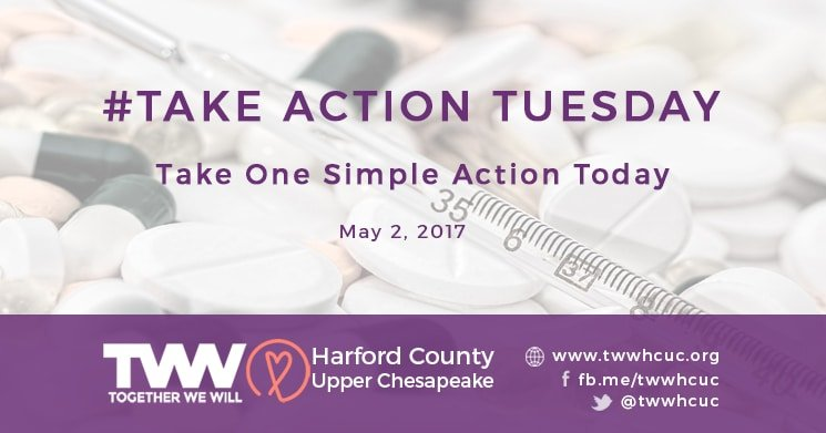 #TakeActionTuesday – May 2, 2017