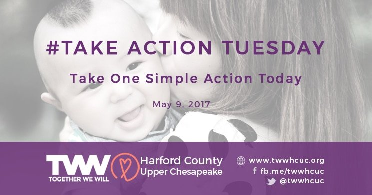 #TakeActionTuesday – May 9, 2017