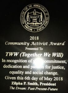 NAACP 2018 Community Activist Award